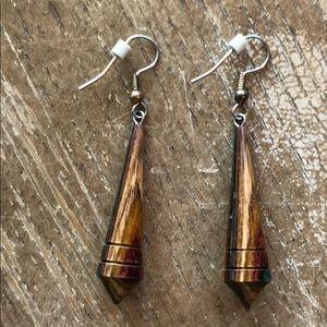 Jewelry - Earrings wood 💐